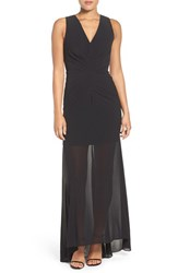 Ali And Jay Women's Ruched Gown