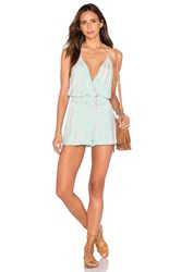 Young Fabulous And Broke Hollie Romper Mint