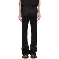 Balenciaga Black Papery Trousers