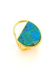 Nest Chrysocolla Ring