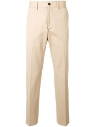 Burberry Slim Fit Chinos Brown