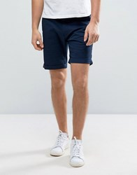 Selected Homme Slim Fit Chino Shorts With Stretch Navy