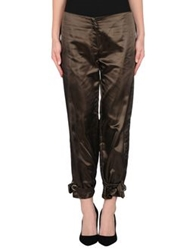 Cristinaeffe Casual Pants Dark Green