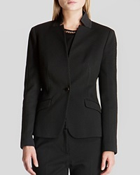 Ted Baker Blazer Rai Textured Pique Black