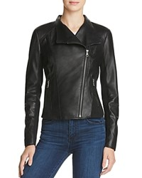 Marc New York Felix Leather Jacket Black