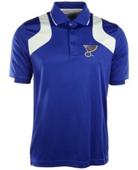 Antigua Men's Short Sleeve St. Louis Blues Fusion Polo