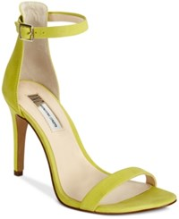 Inc International Concepts Women's Roriee Two Piece Sandals Only At Macy's Women's Shoes Chartreuse