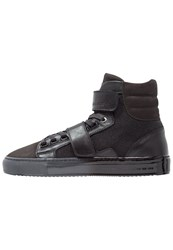 Android Homme Propulsion Hightop Trainers Black