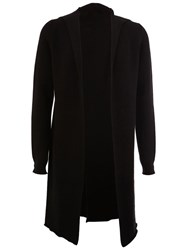 Label Under Construction Long Cardigan Black