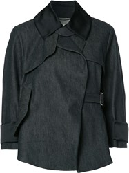 Dorothee Schumacher Structured Jacket Blue