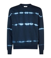 Sandro Tie Dye Sweater Blue