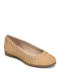 Aerosoles Cubecle Ballet Flats Light Tan