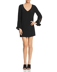 Ella Moss Stella Tie Cuff Dress Black
