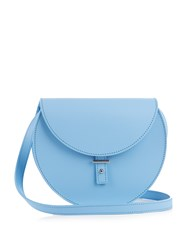 Pb Ab21 Leather Cross Body Bag Light Blue