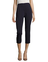 T Tahari Connie Cropped Pants True Navy