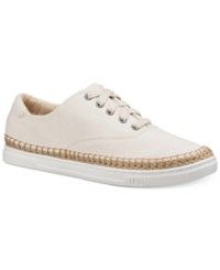 Ugg Eyan Canvas Lace Up Sneakers