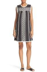 Sea Women's Geometric Stripe Shift Dress
