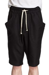 Drifter Men's 'Tristan' Drawstring Silk And Wool Shorts