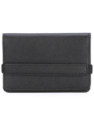 Common Projects Logo Cardholder Wallet Men Calf Leather One Size Black