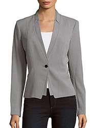 Calvin Klein Lux Shawl Collar Jacket Tin