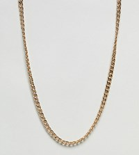 Designb Curb Chain Necklace In Gold Exclusive To Asos