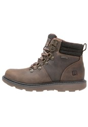 Rockport Boat Builders Laceup Boots Dark Brown