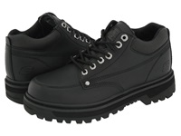 Skechers Mariner Black Oily Leather Men's Lace Up Casual Shoes