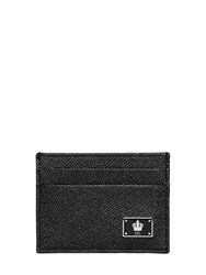 Dolce And Gabbana Dauphine Leather Card Holder