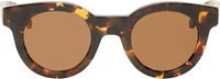 Sun Buddies Amber And Brown Tortoiseshell Type 2 Sunglasses