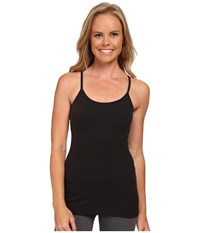 Beyond Yoga Slim Racerback Cami Black Women's Sleeveless