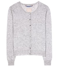 81 Hours Clyde Cashmere Cardigan Grey