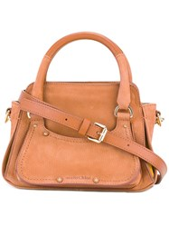 See By Chloe Removable Strap Tote Nude Neutrals