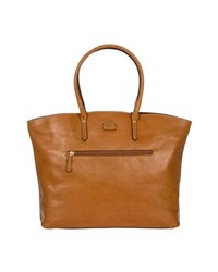 Bric's Life Pelle Business Tote Brown