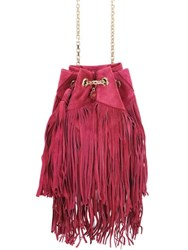 Roger Vivier Fringed Suede Shoulder Bag