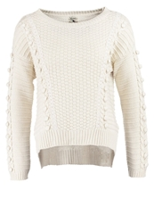 Yumi Chunky Jumper Offwhite Off White
