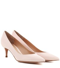 Gianvito Rossi 55 Patent Leather Pumps Pink