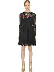 Blugirl Embroidered Techno Lace Dress