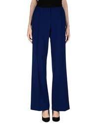 Space Style Concept Trousers Casual Trousers Women Blue