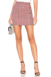About Us Betsey Mini Skirt Red