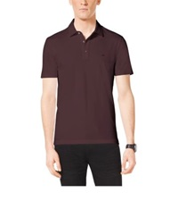 Michael Kors Cotton Polo Shirt Pomegranate