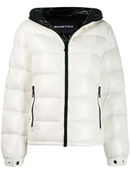 Duvetica Hooded Padded Jacket White