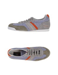 Serafini Luxury Footwear Low Tops And Trainers Men Lilac
