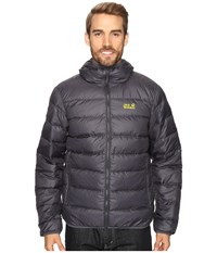 Jack Wolfskin Helium Jacket Ebony Men's Coat Black