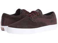 Lakai Riley Hawk Chocolate Suede Men's Skate Shoes Brown