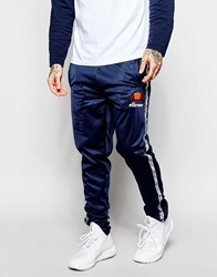 Ellesse Track Pants With Taping Navy