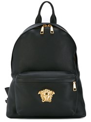 Versace Palazzo Backpack Women Calf Leather One Size Black