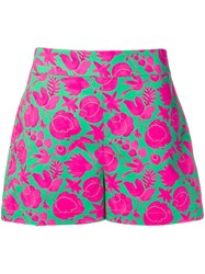 La Doublej Summer Shorts Green