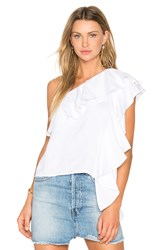 Backstage Santorini Top White