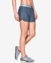 Under Armour Play Up Shorts Aurora Purple Faded Ink