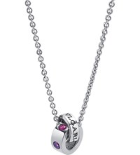 Bulgari Roman Sorbets 18Kt White Gold And Precious Gemstone Necklace